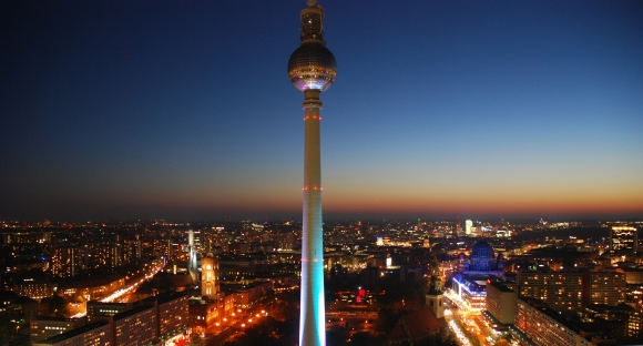 Berlin at night, Robert-Jan Lubbers