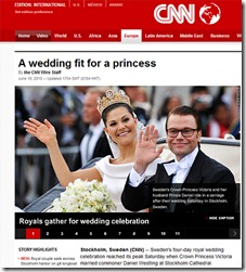 CNN wedding fit for a princess fix